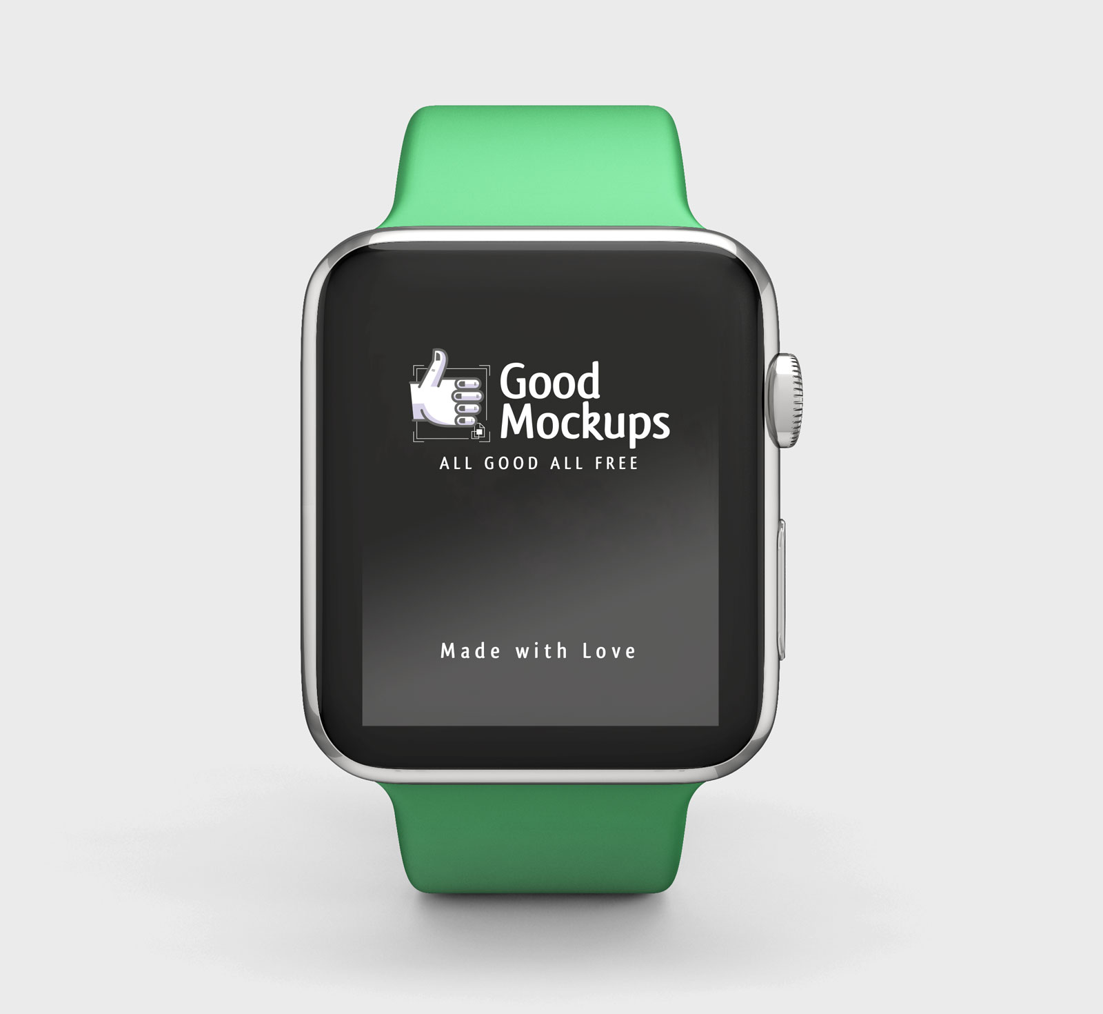Free-Apple-Watch-Mockup-PSD-with-green-Sport-Band