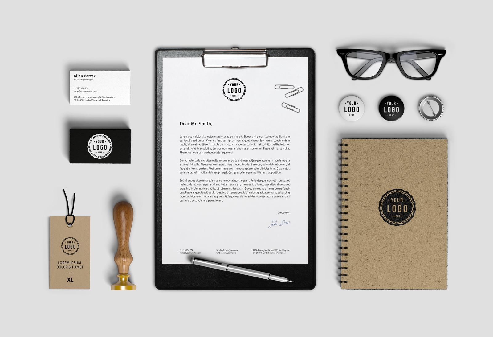 Free-Brand-Identity-Stationery-Mockup-PSD-File-3