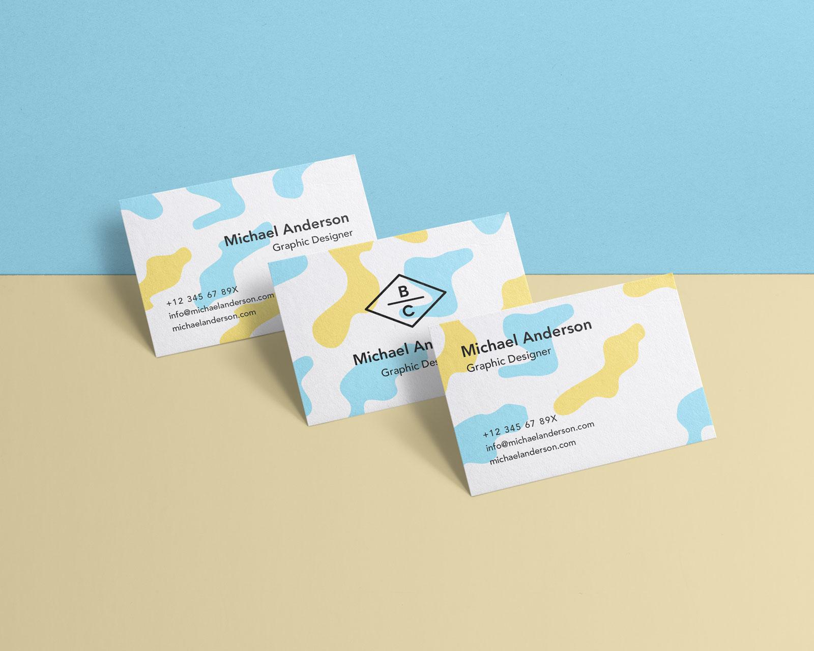 Free Elegant Business Card Mockup Psd Good Mockups
