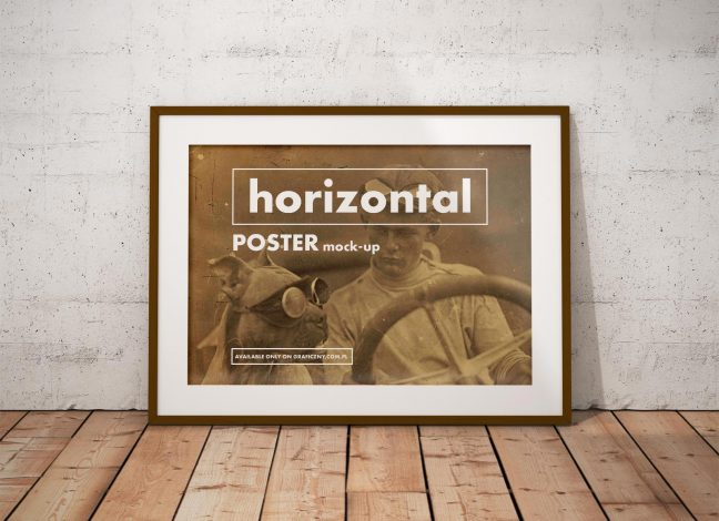 Posters with frames