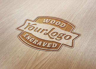 Free-Logo-Mockup-On-Wooden-Background