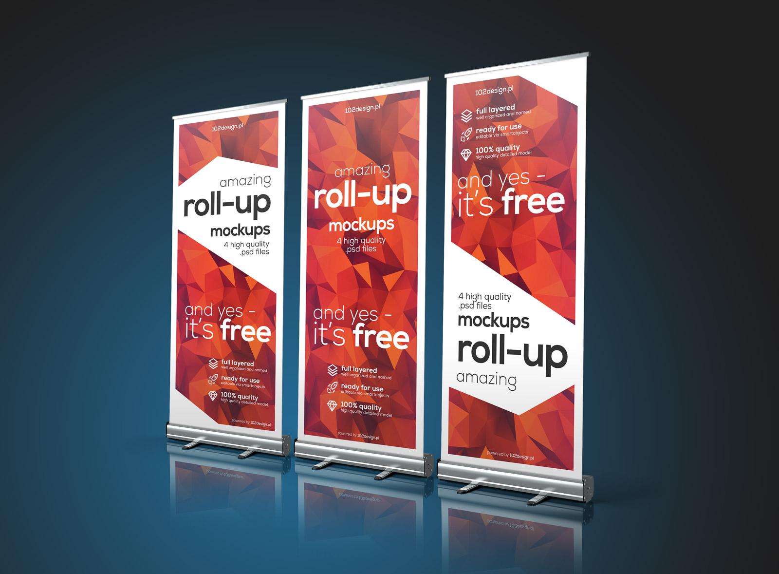 Free-Premuim-Pull-up-Banner-Stand-Mockup-PSD-file
