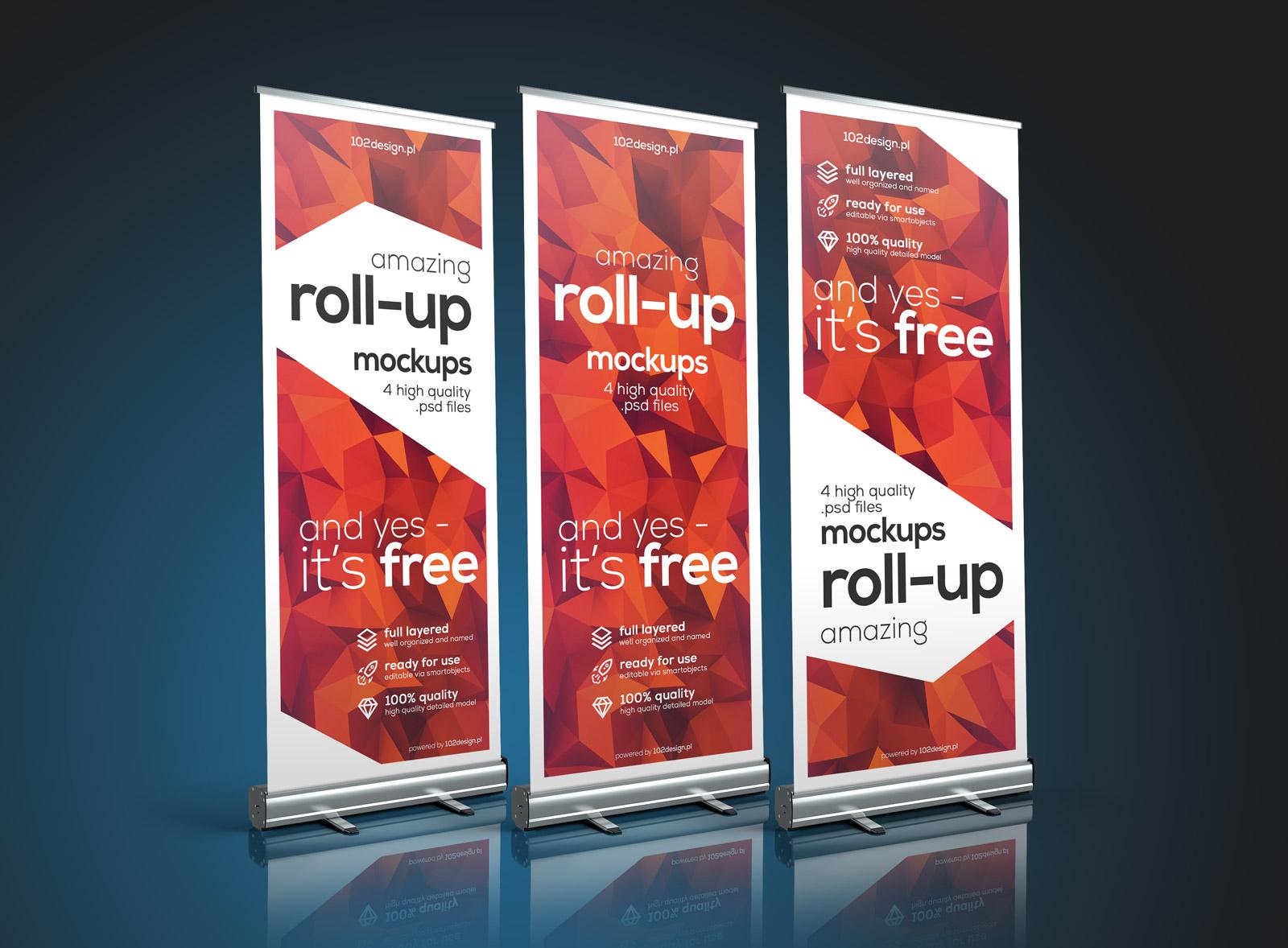 Free-Premuim-Roll-up-Banner-Stand-Mockup-PSD-2