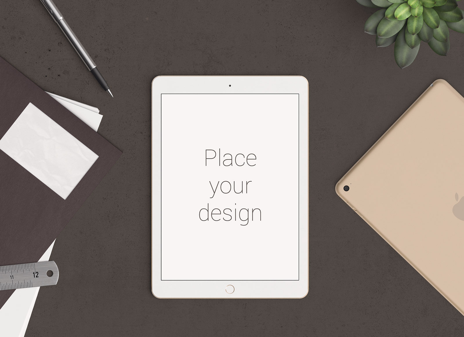 Free-Vertical-Screen-iPad-Pro-Mockup-PSD