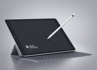 Free-iPad-Pro-Mockup-PSD-with-Smart-Keyboard