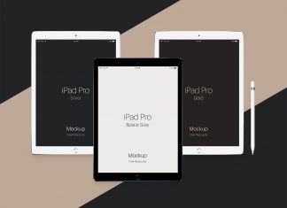 Free-iPad-Pro- PSD-Mockups