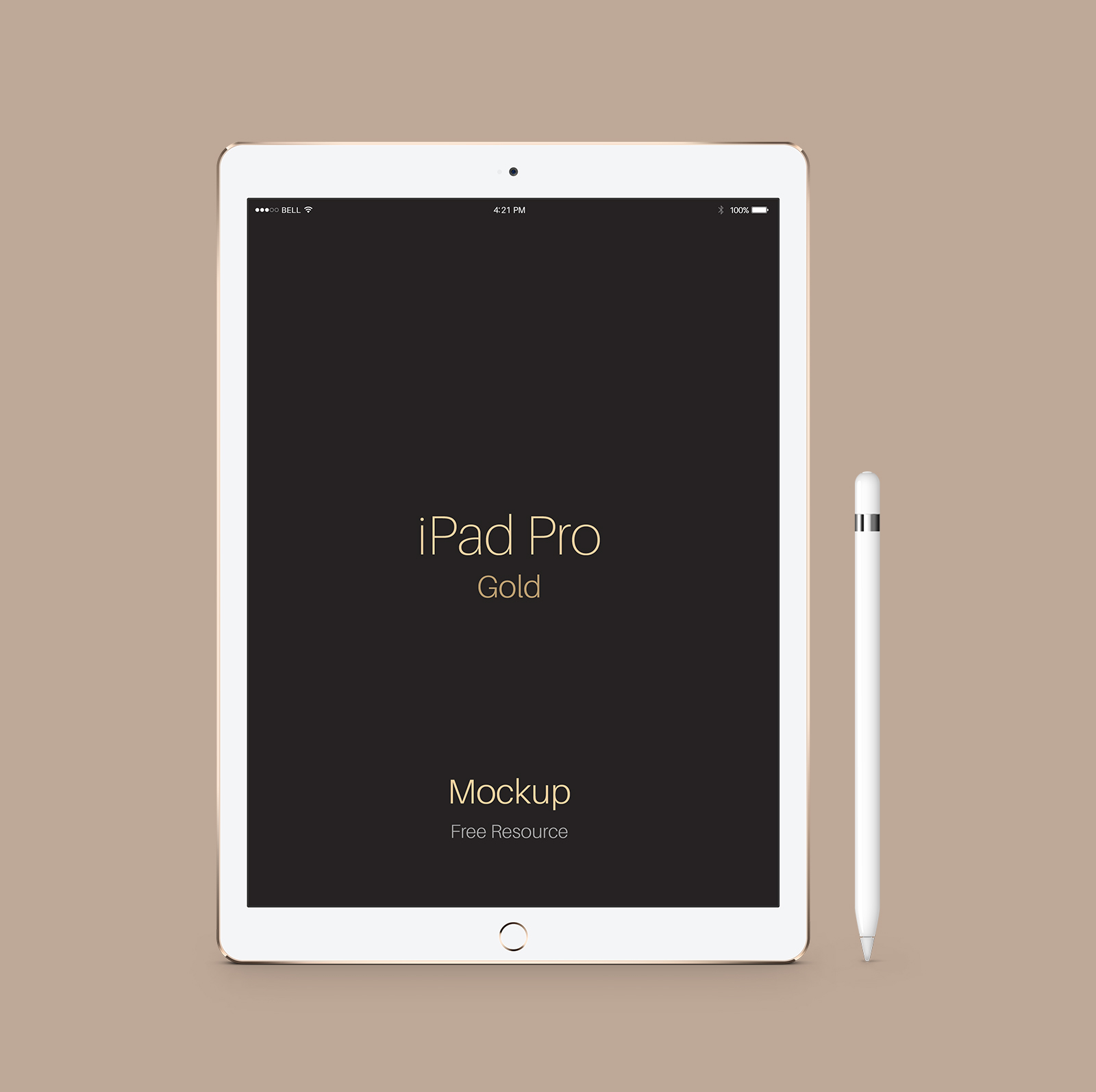 Free-iPad-Pro-Space-Gold-Mockup-PSD