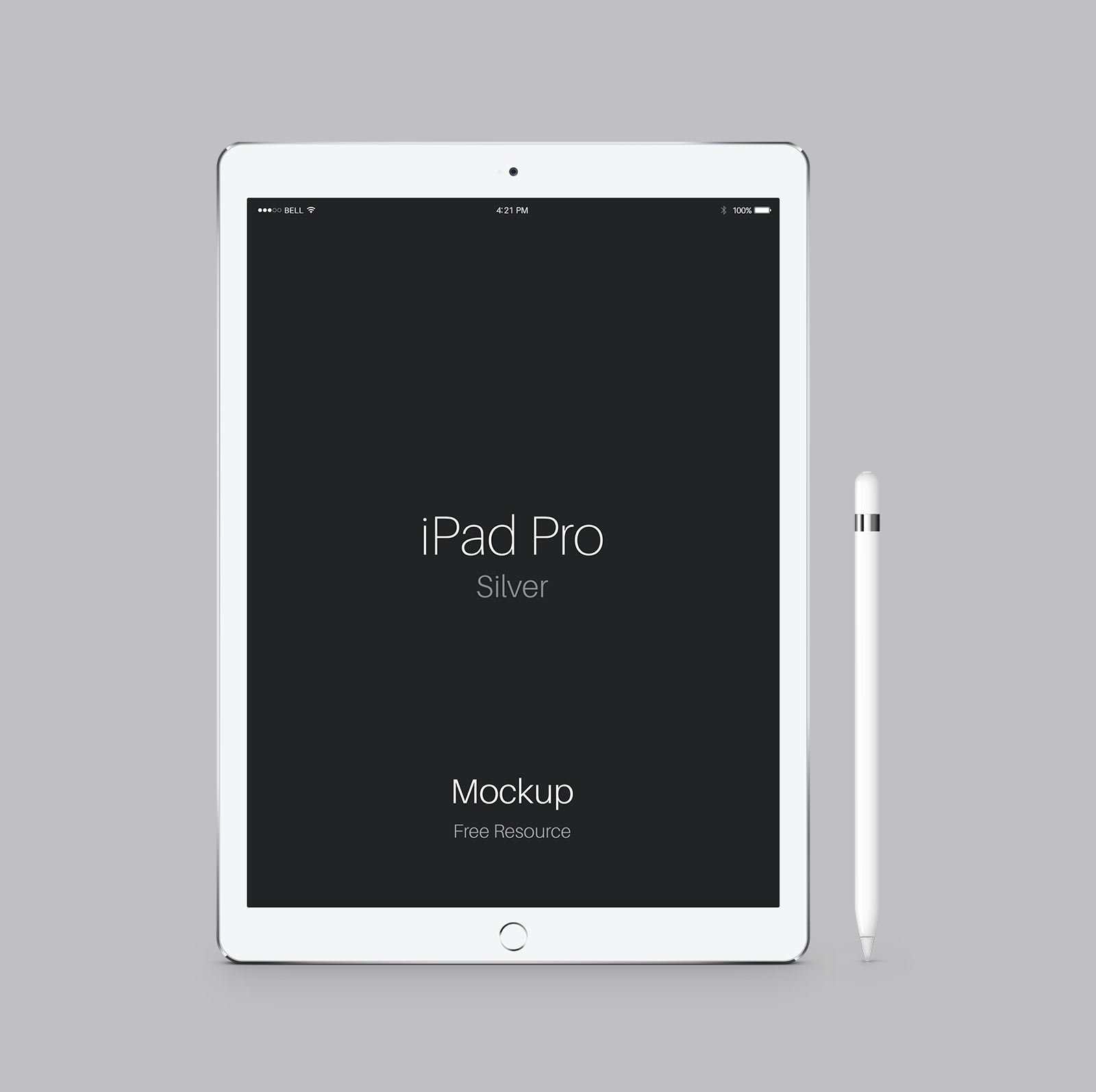 Free-iPad-Pro-Space-Silver-Mockup-PSD
