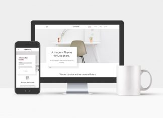 Free-iPhone,-iMac-&-Coffee-Mockup-Mockup-PSD