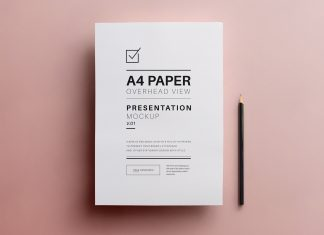 Free-A4-Flyer-Paper-Mockup-PSD