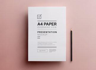 Free-A4-Flyer-Paper-Mockup-PSD