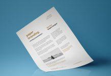 Free-A4-Resume-Flyer-Letterhead-Paper-Mockup-PSD