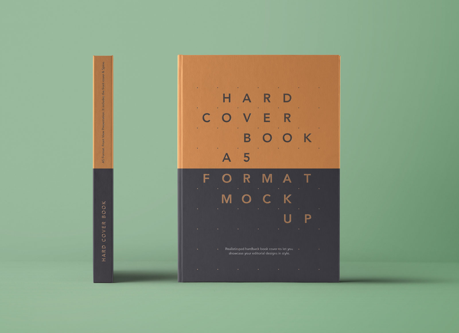 How To Make A Book Cover App : Free a hardcover book spine mockup psd good mockups