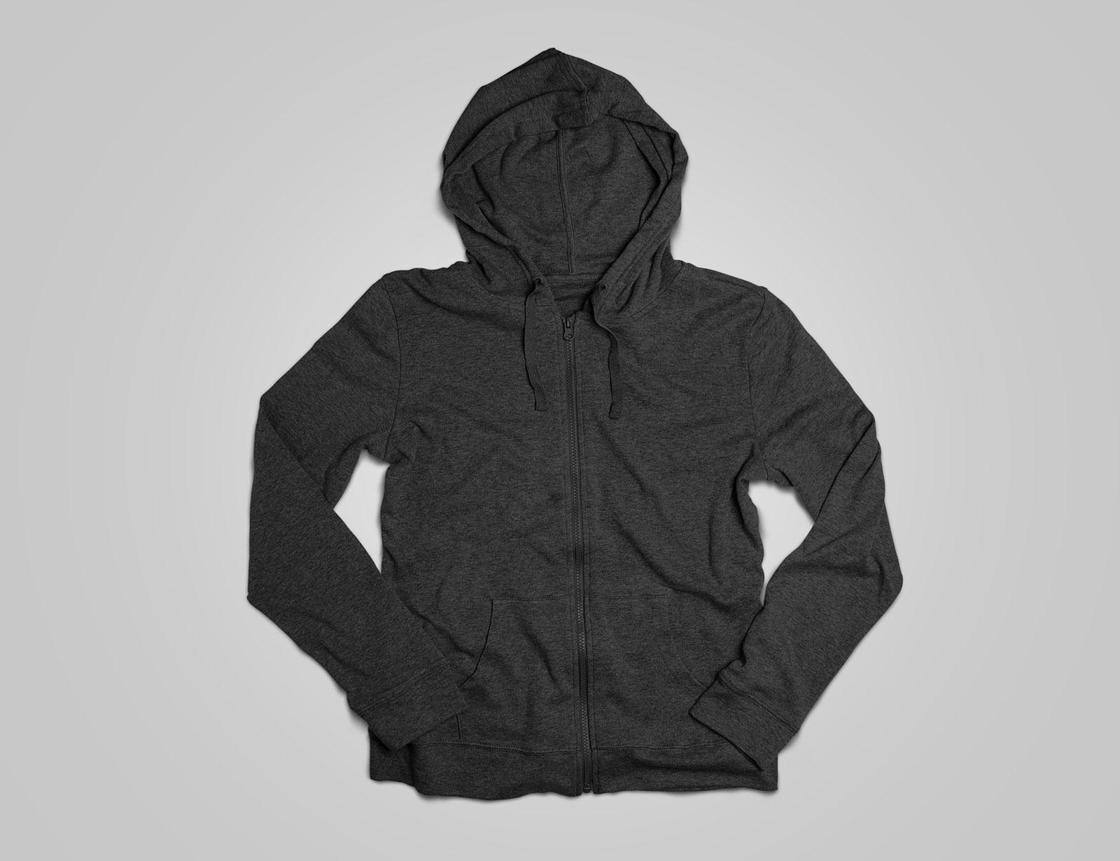 free full sleeves hoodie t-shirt mockup psd file