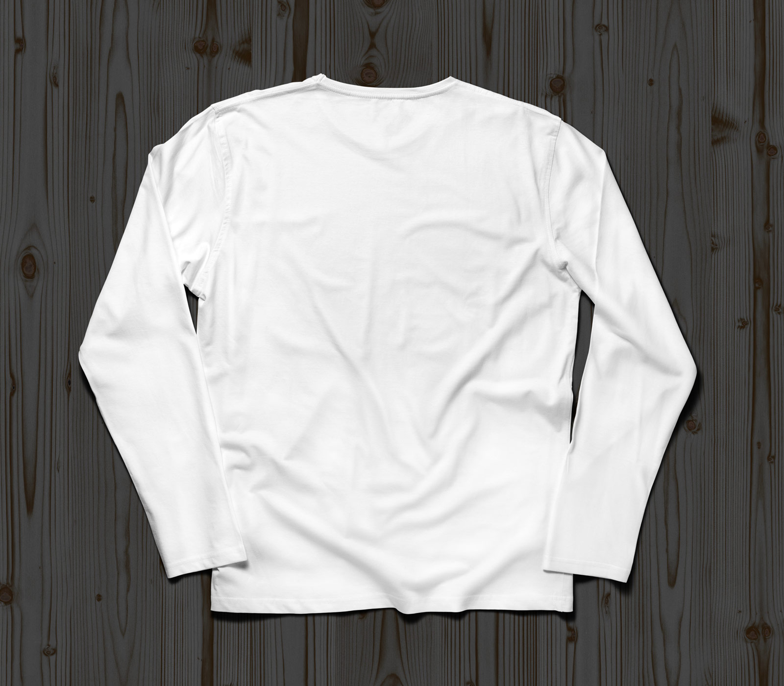 Free full sleeves t shirt mockup psd front back good mockups for Blank t shirt mockup