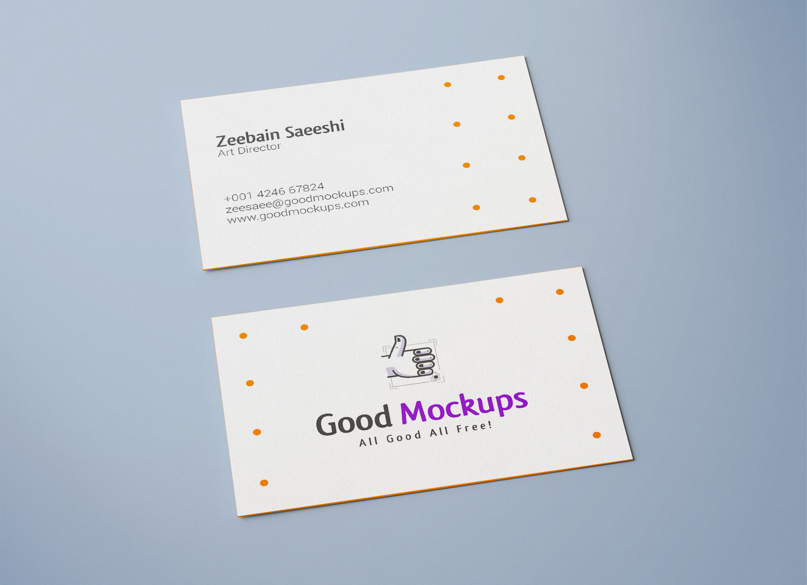 Free double sided business card mockup psd good mockups free business card mockup psd flashek Images