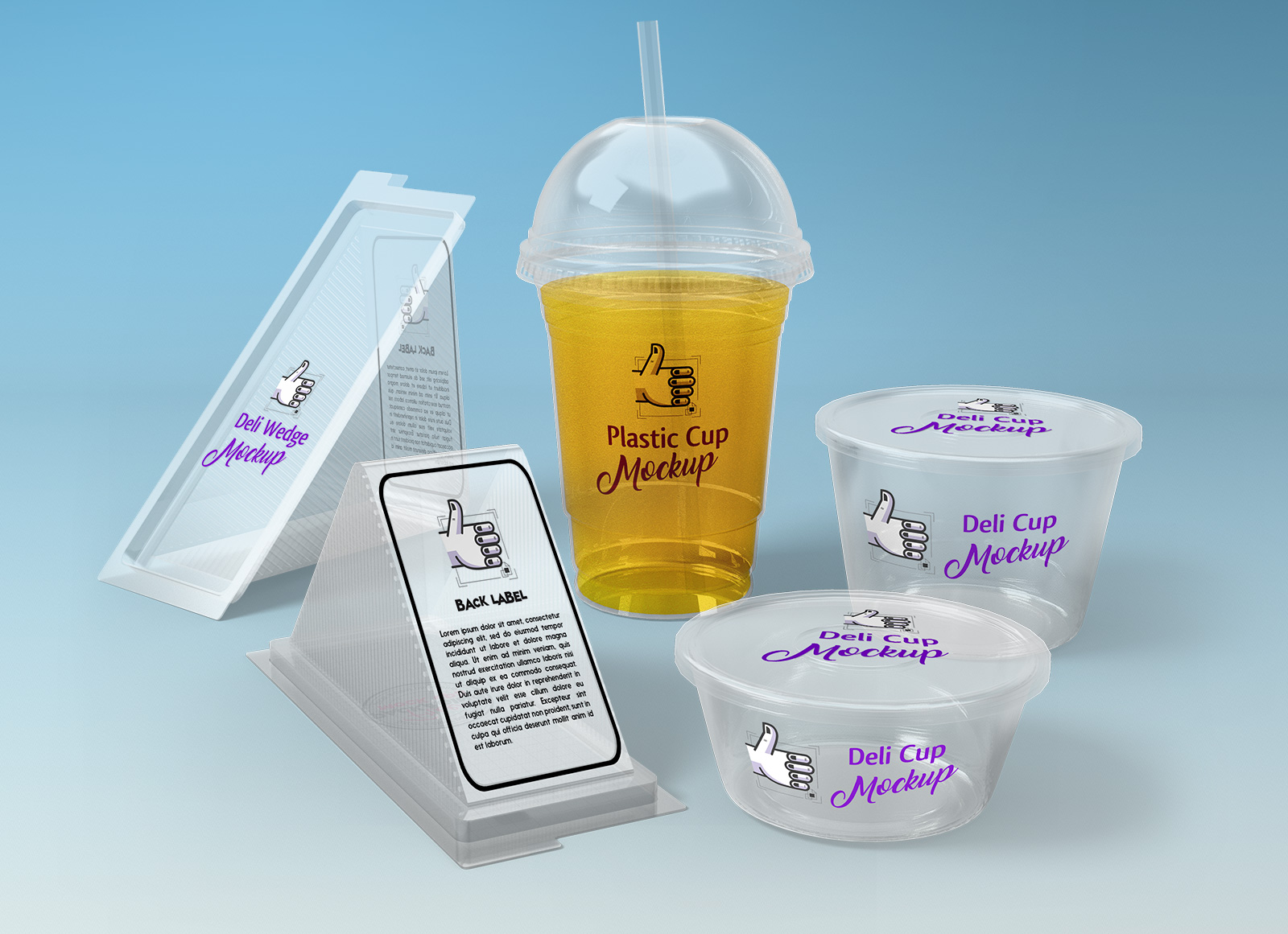 Free Sandwich Food Box Paper Cup Packaging Mockup Psd Good