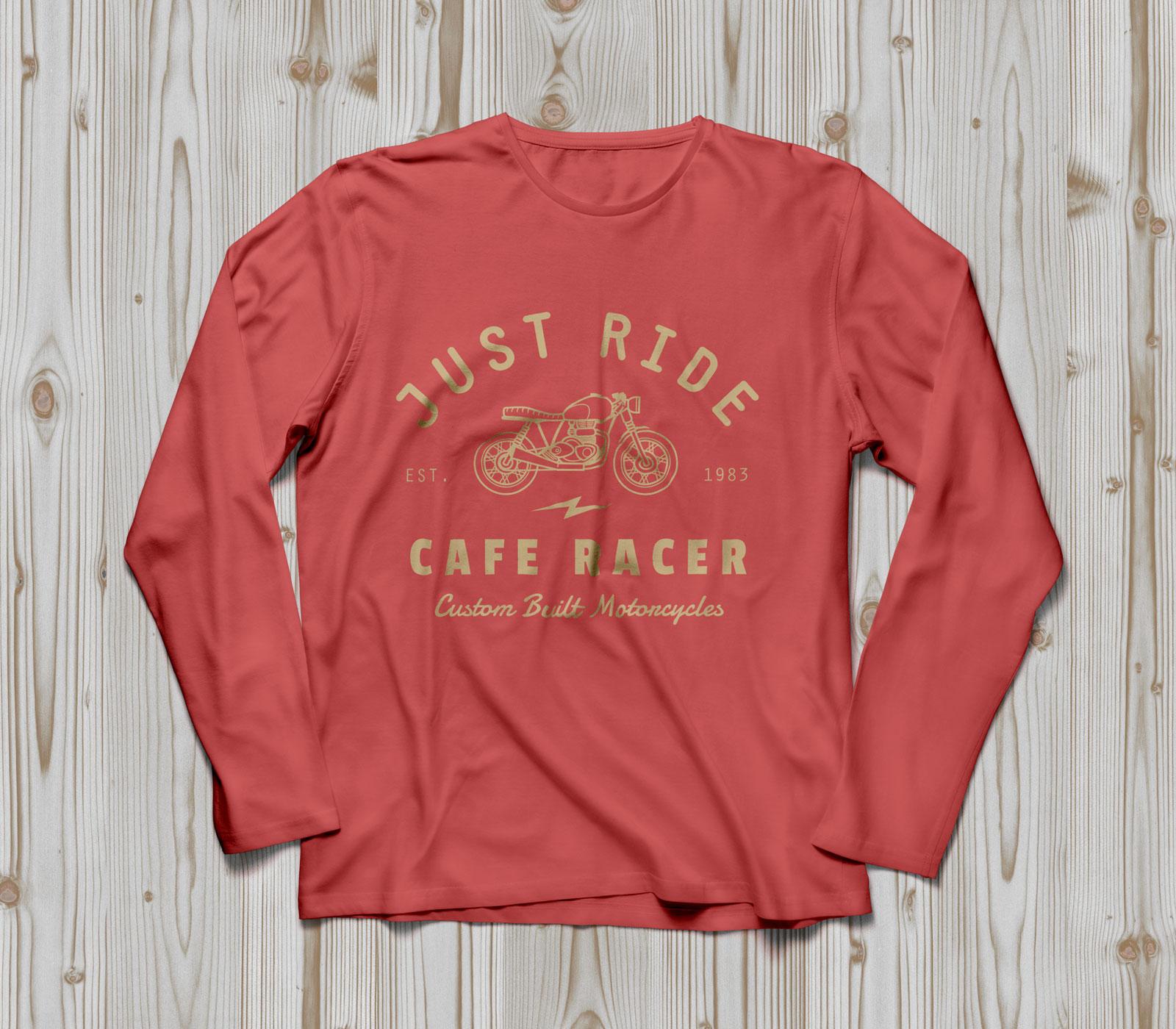 Free-Full-Sleeves-T-shirt-Mockup-PSD-Red