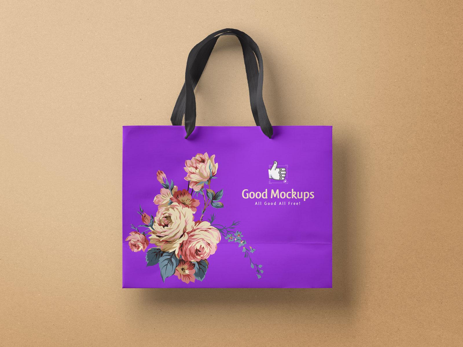 Free-High-Quality-Paper-Shopping-Bag-Mockup-PSD-File