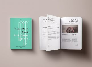 Free-Paperback-Book-&-Inner-Pages-Mockup-PSD