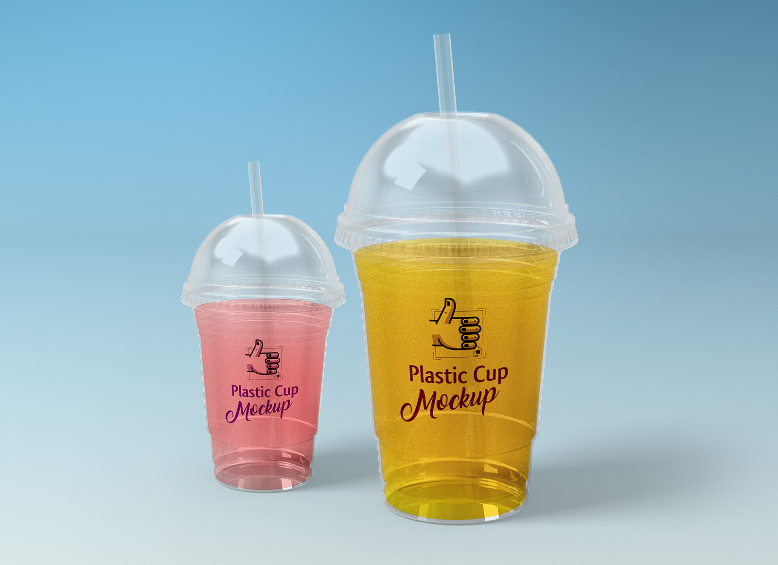 Free-Plastic-Ice-Cream-Cup-Packaging-Mockup-PSD