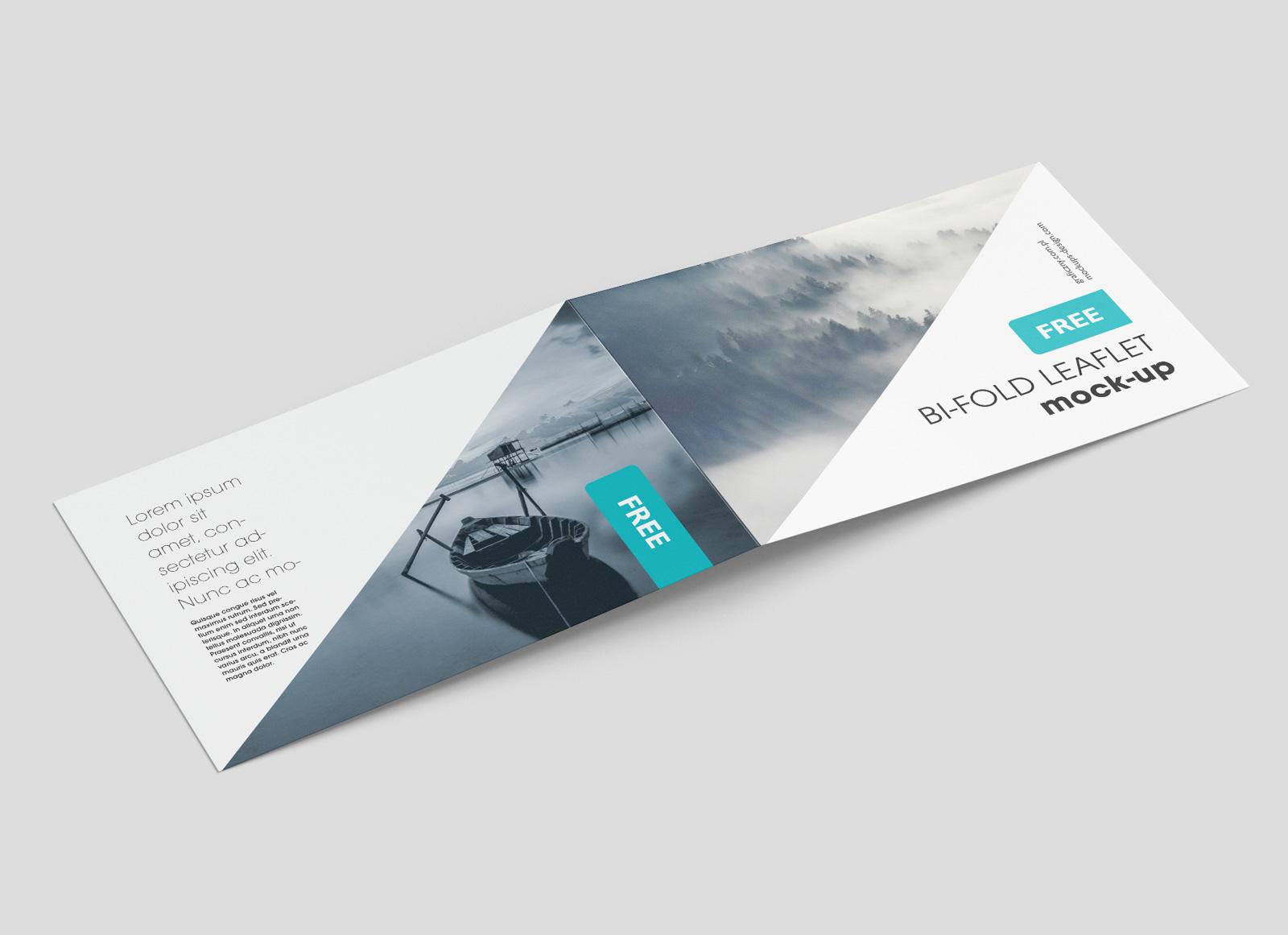 Free-Premium-Landscape-Bi-Fold-Brochure-Mockup-PSD