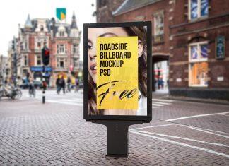 Free-Roadside-Street-Billboard-Mockup-PSD