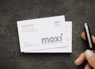 Free-Simple-One-Sided-Business-Card-Mockup-PSD-File