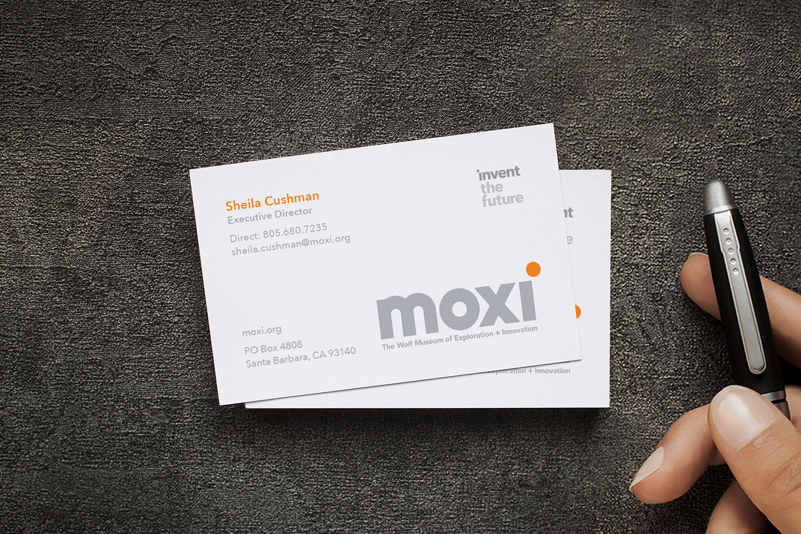 Free One Sided White Business Card Mockup Psd Good Mockups