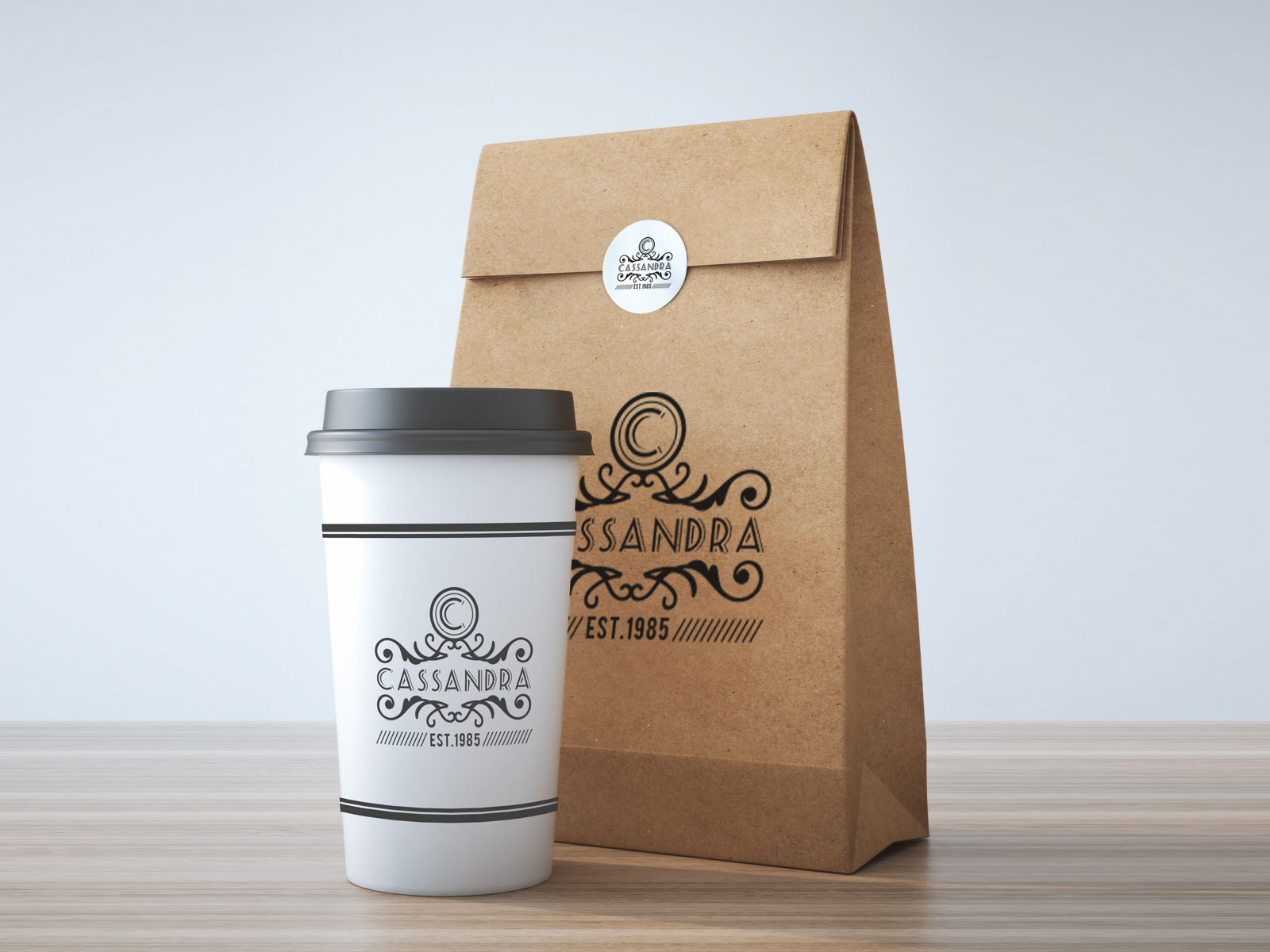 Free-Take-Way-Coffee-Cup-&-Burger-Packaging-Mockup-PSD