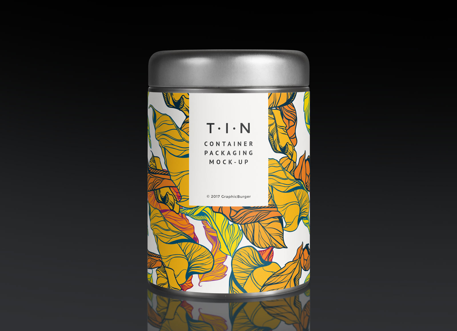 Free Tin Can Label Packaging Mockup Psd Good Mockups