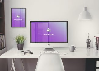 Free-iMac-5k-Office-Workplace-Mockup-PSD