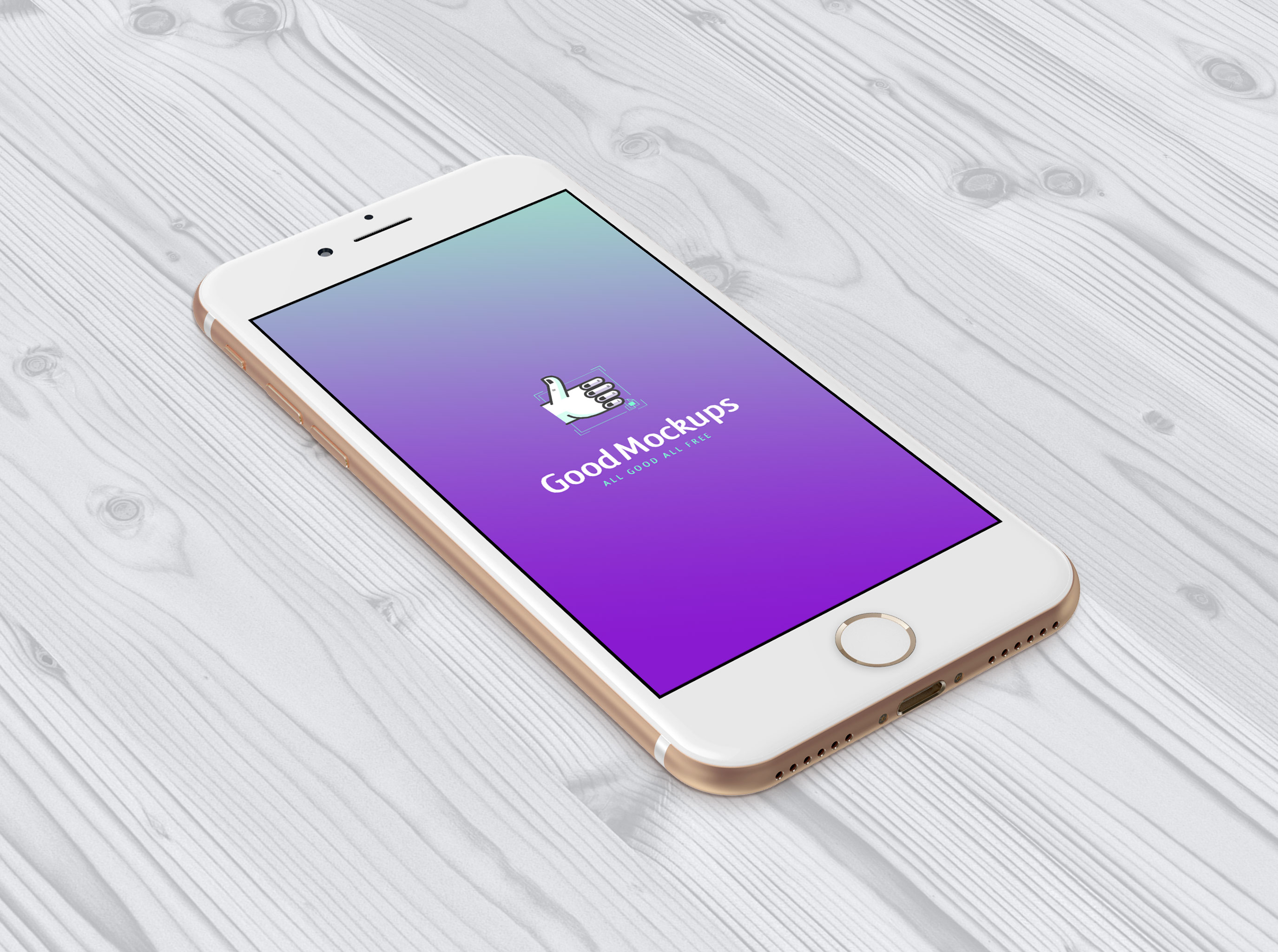Free-iPhone-7-Gold-Sketch-PSD-Mockup