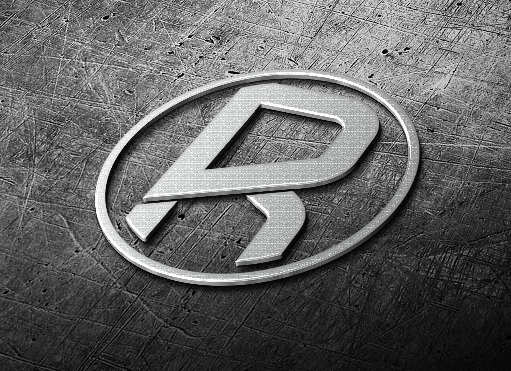 3d logo mockup download free