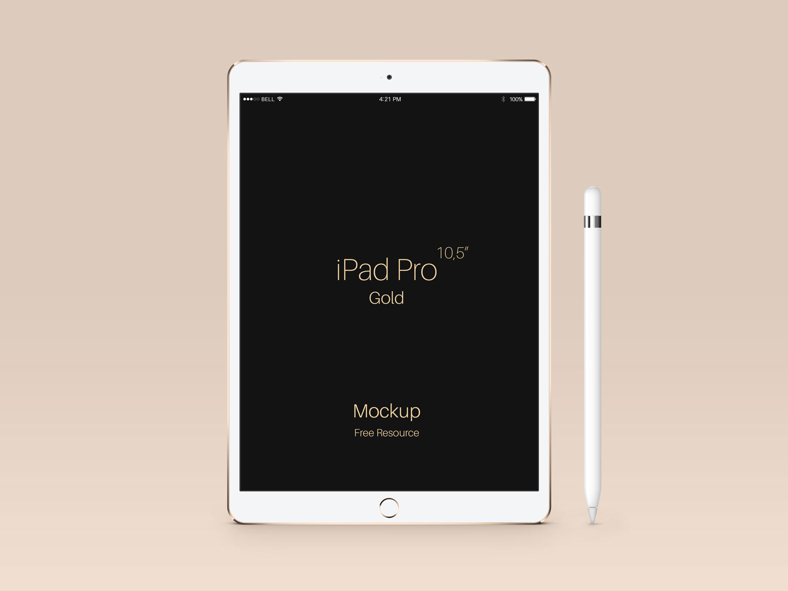 Free-Apple-iPad-Pro-Gold-Mockup-PSD