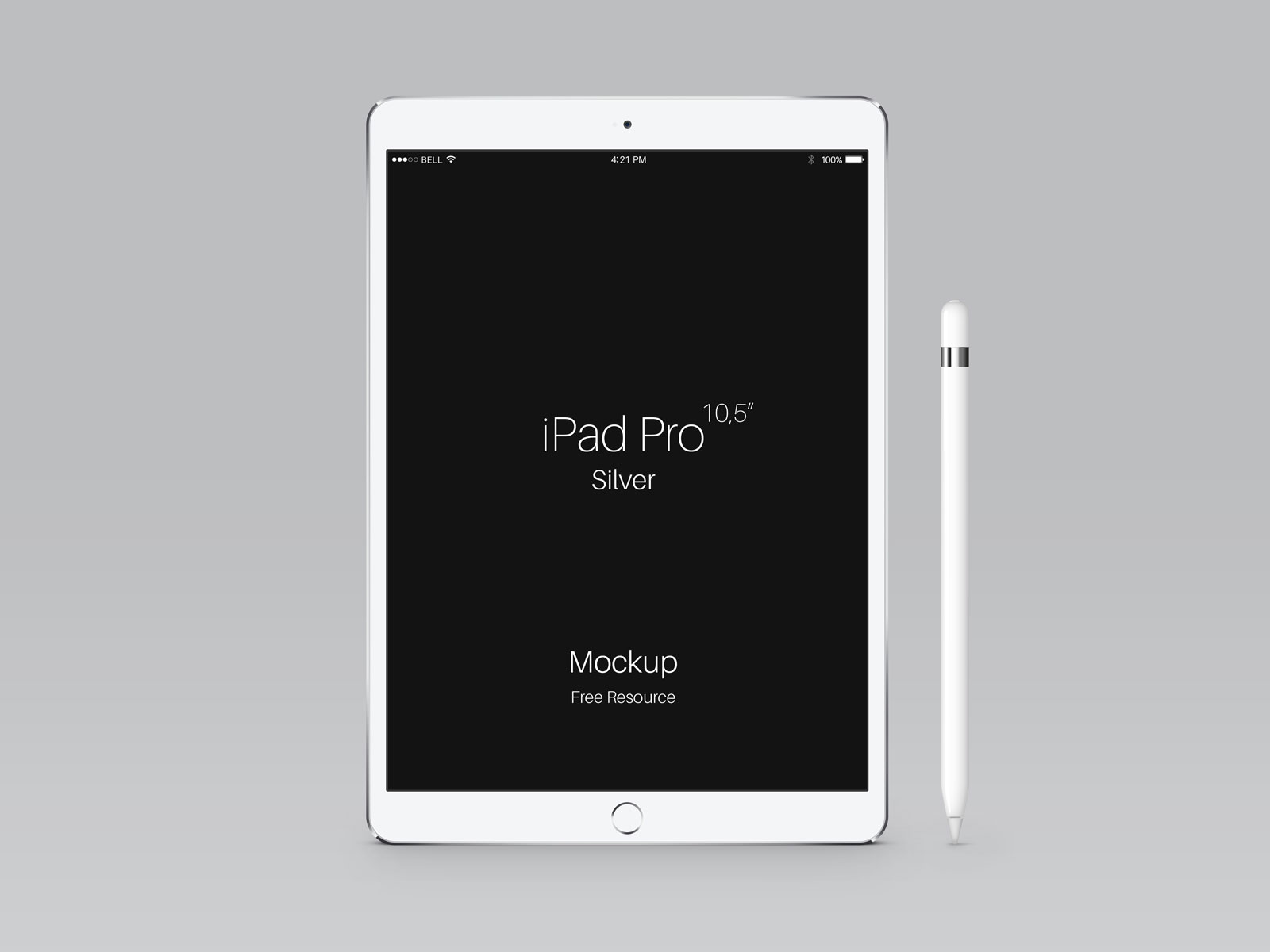Free-Apple-iPad-Pro-Silver-Mockup-PSD