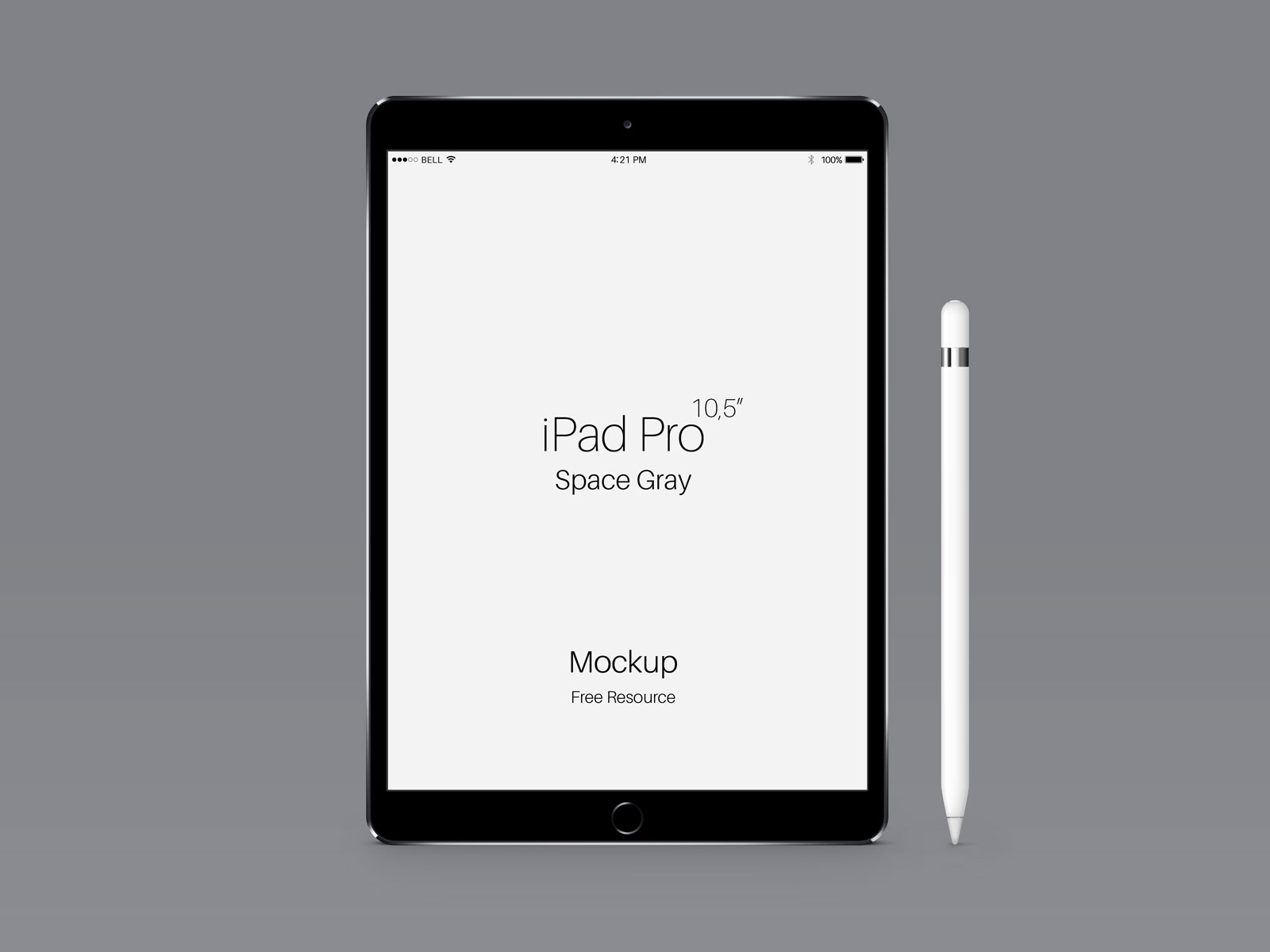 Free-Apple-iPad-Pro-Space-Gray-Mockup-PSD