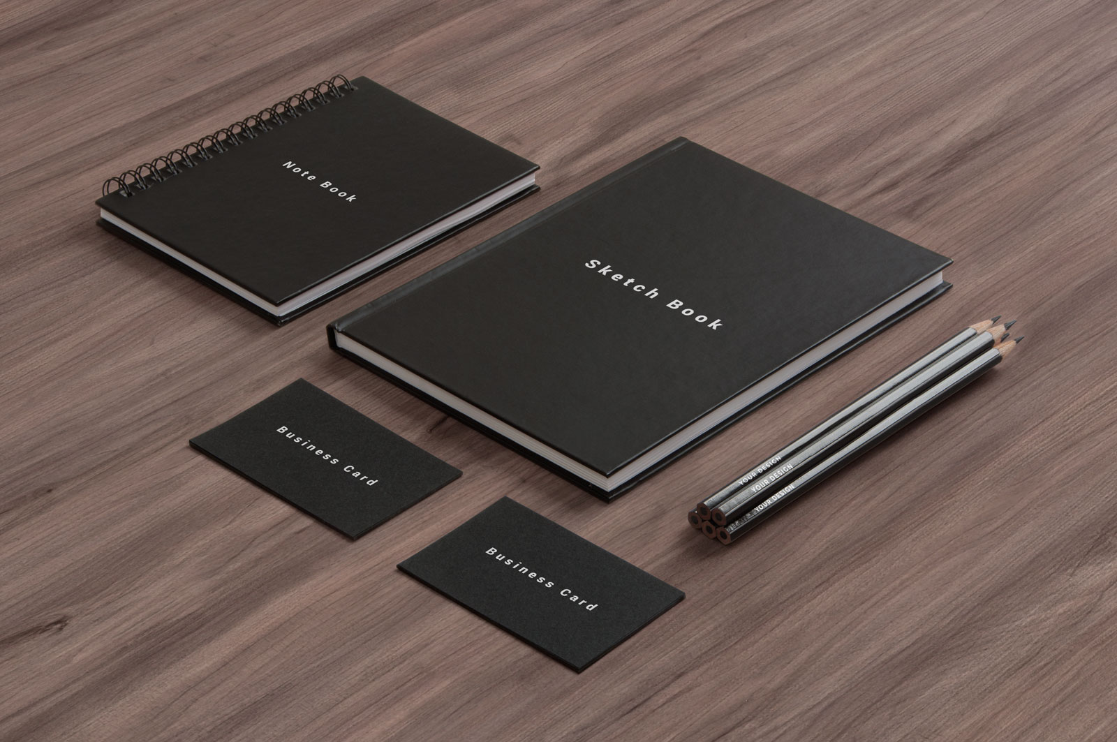 Free-Business-Card,-Notepad,-Led-Pencil-&-Sketchbook-Cover-Mockup-PSD-2