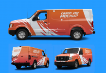 Free-Cargo-Van-Vehicle-Branding-Mockup-PSD-(All-Angles)