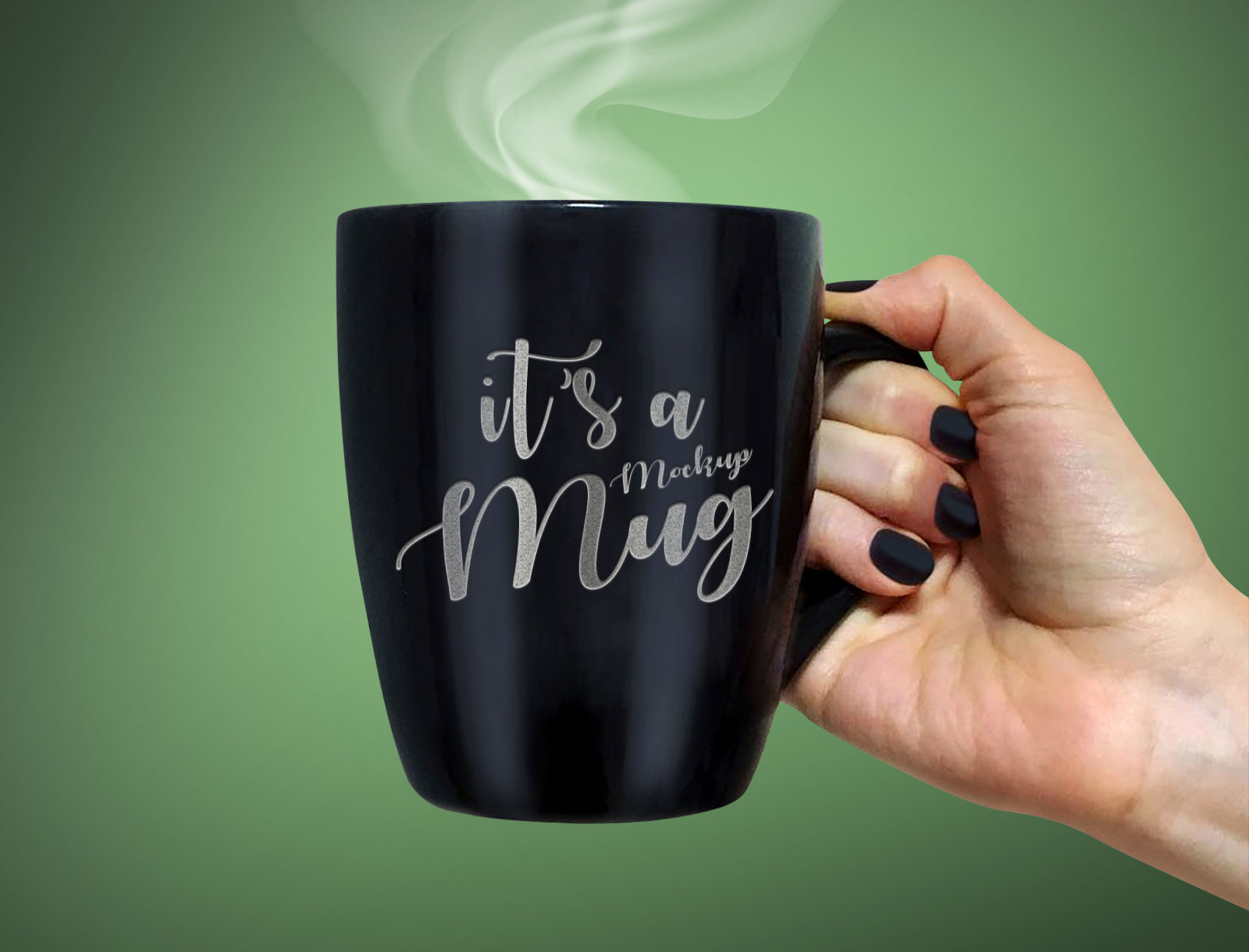 Free Black Coffee Tea Mug Photo Mockup Psd Good Mockups