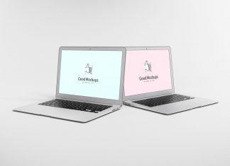 Free-Dual-Apple-MacBook-Air-Mockup-PSD-File-2