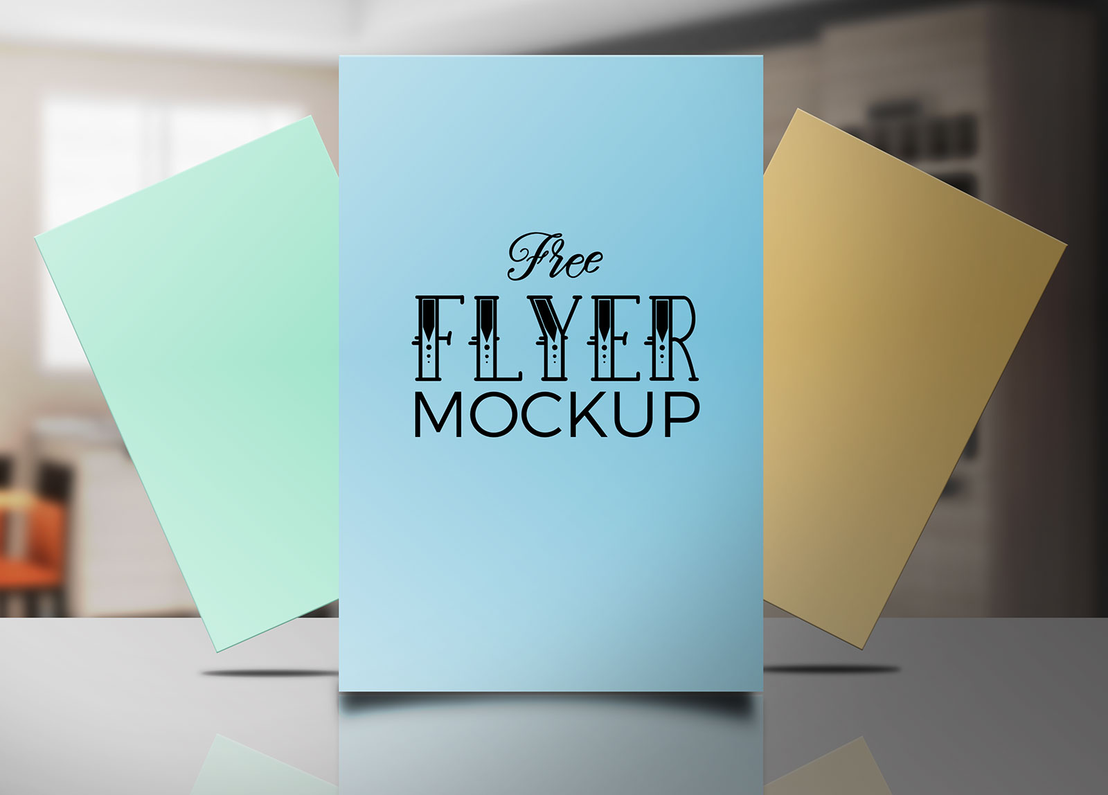 Free-Flyer-Poster-Mockup-PSD-file