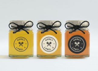 Free-Honey-Jar-Bottle-Mockup-PSD