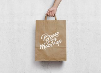 Free-Kraft-Paper-Shopping-Bag-Mockup-PSD-File