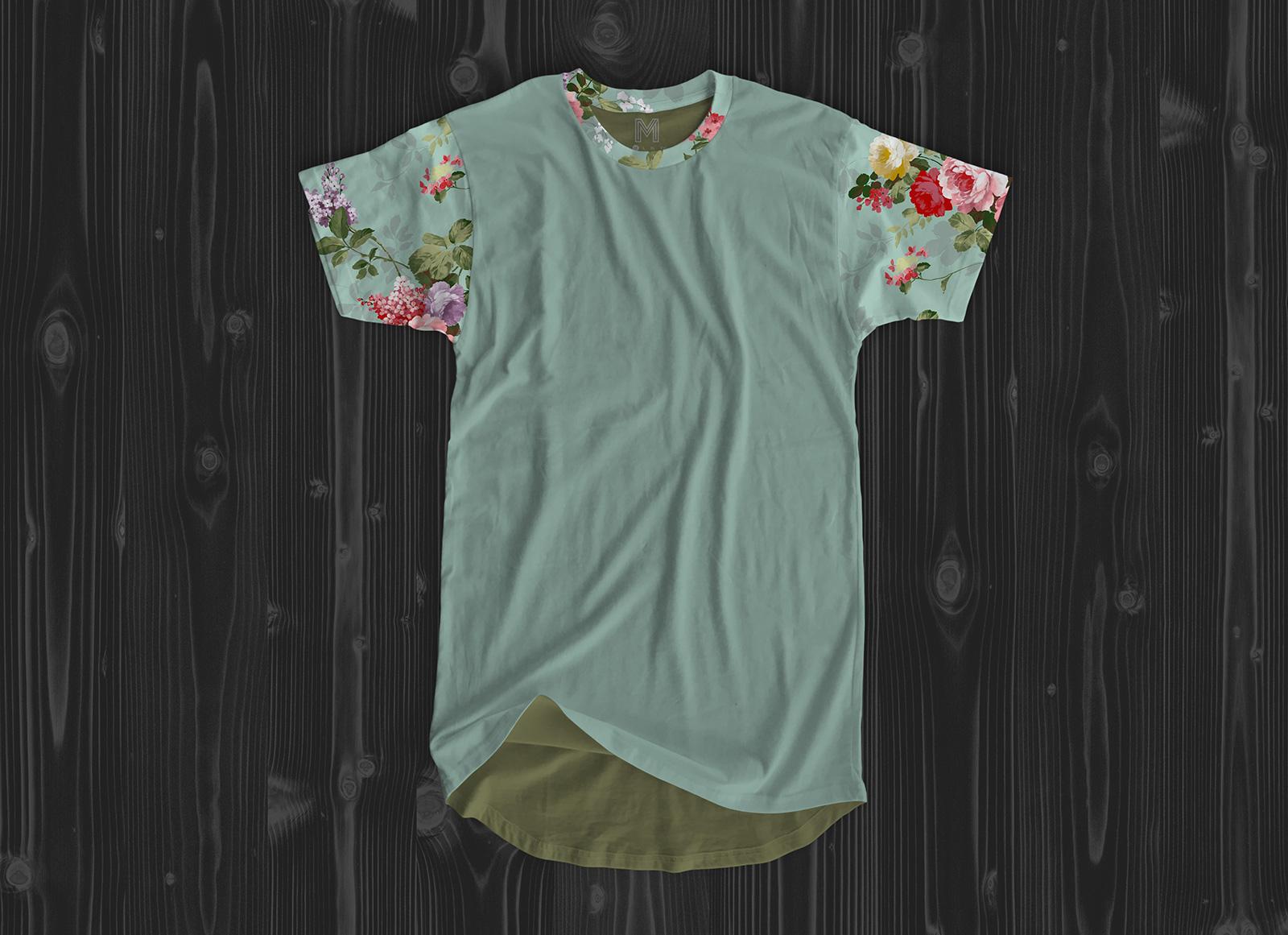 Free-Long-Line-T-Shirt-Mockup-PSD-2