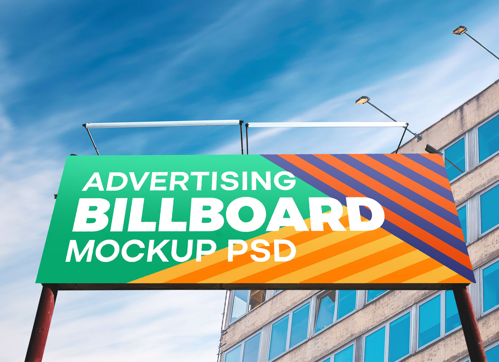 free outdoor advertisment billboard mockup psd good mockups