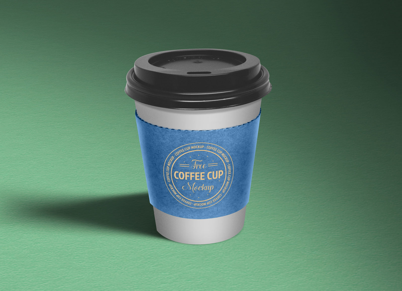 Free Paper Coffee Cup Sleeve Mockup PSD - Good Mockups