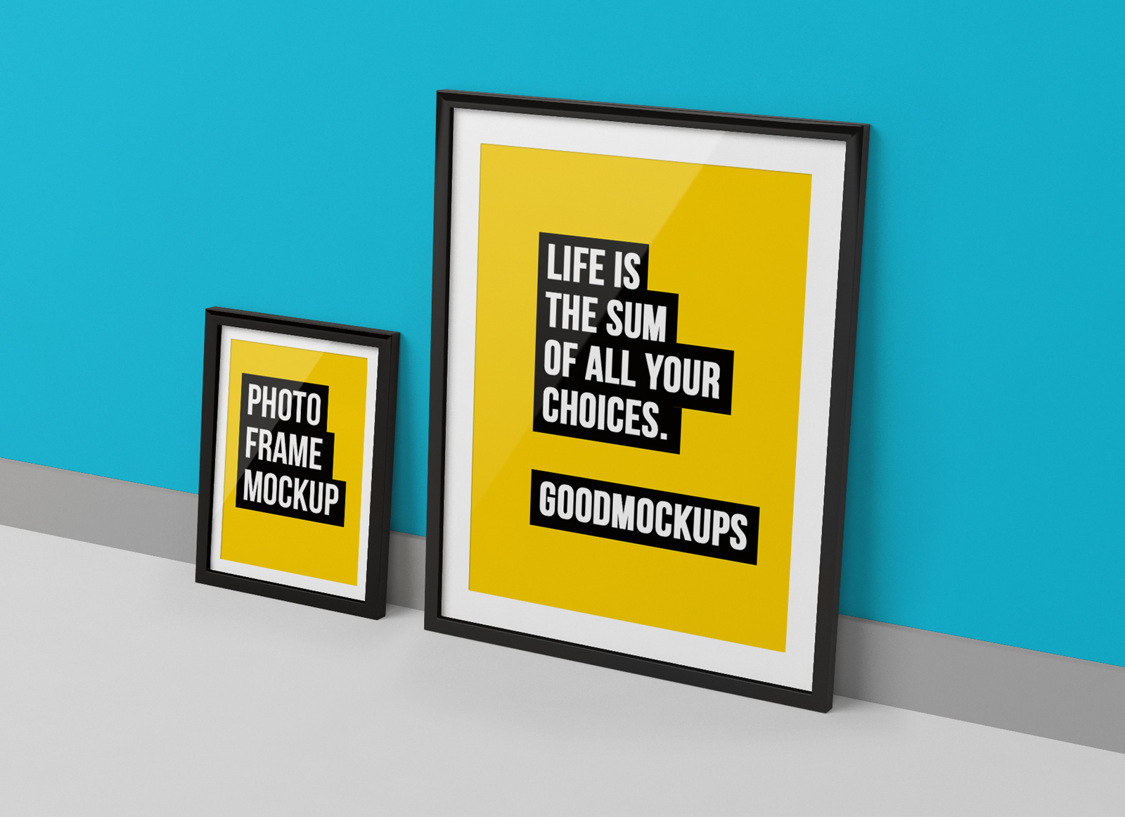 Free-Photo-Frame-Mockup-PSD-for-Lettering,-Photos-&-Typography