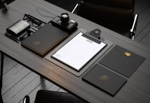 Free-Premium-Black-Stationery-Mockup-PSD-File