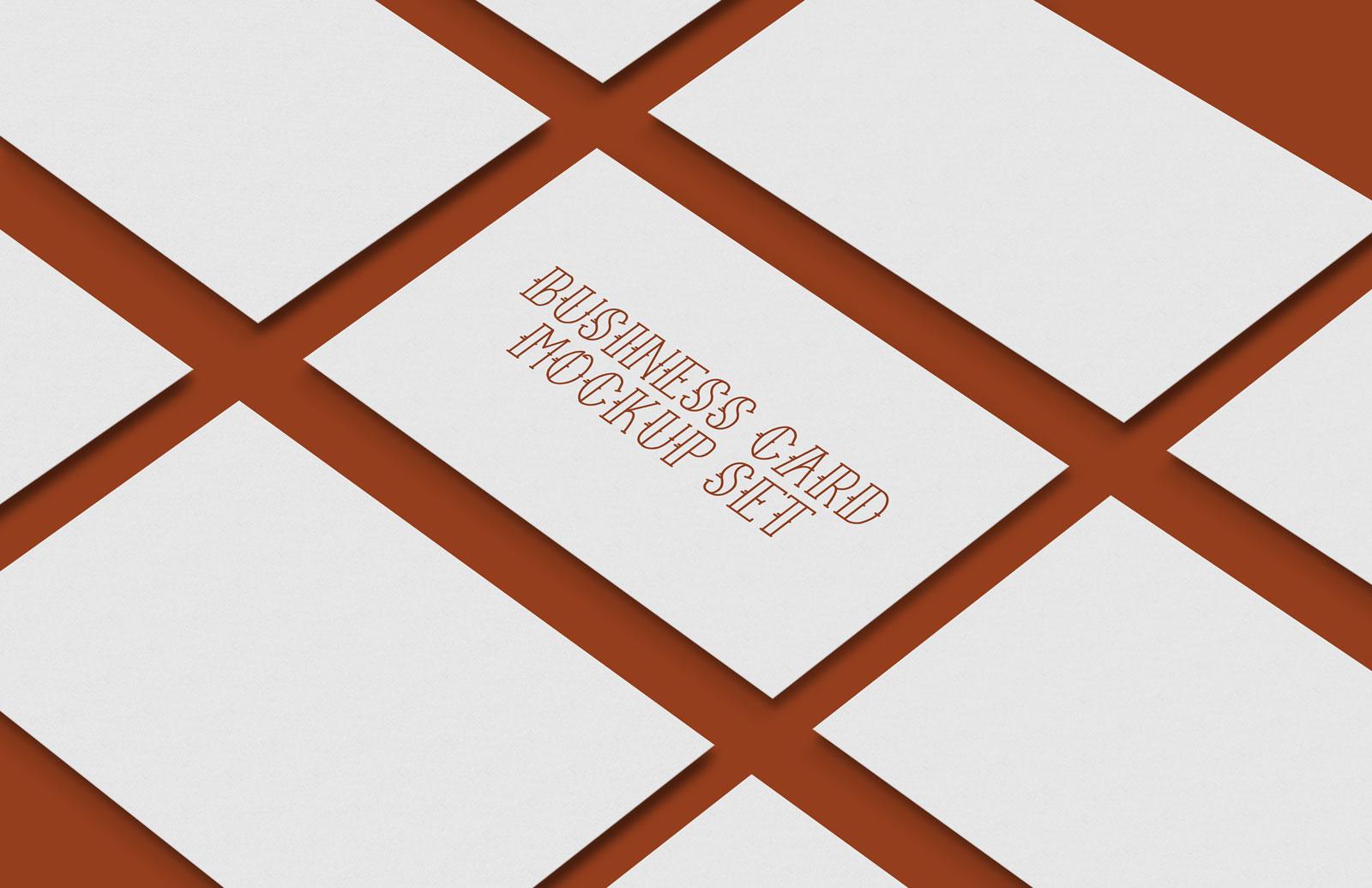 Free-Premium-Business-Card-Mockup-PSD-Set